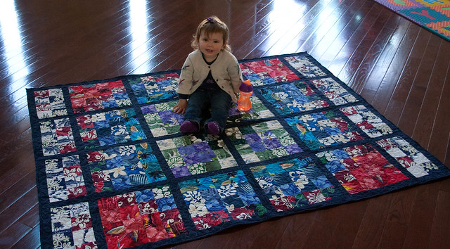 Baby and Hawaii Quilt