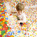 Piano Dots - Yayoi Kusama's 'The obliteration room'