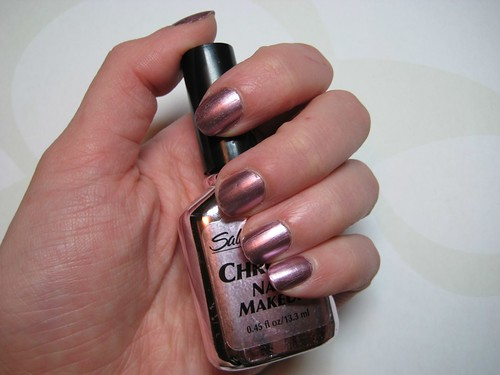 sally hansen chrome nail makeup #09 jewel