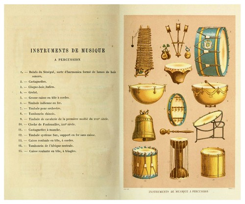 015-Instrumentos de musica de percusion-Les harmonies du son et l'histoire des instruments de musique -1878