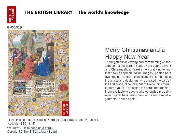 British Library ecard