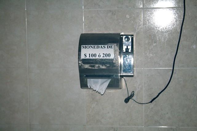 toilet paper vending machine