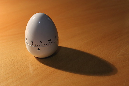 'I bought an egg timer' by Ian Barbour on Flickr http://www.flickr.com/photos/barbourians/