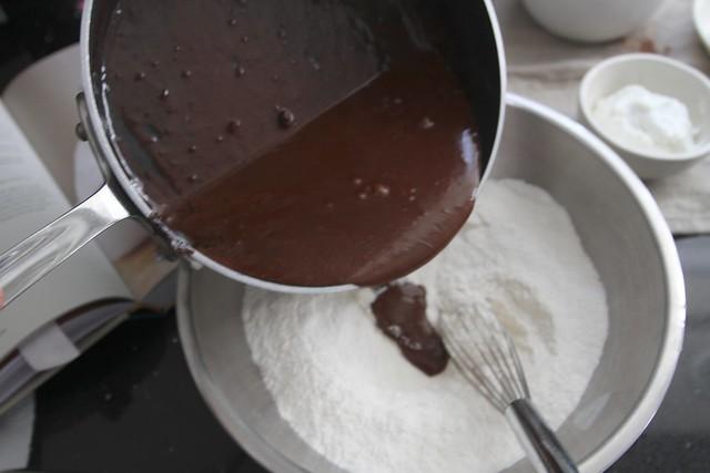 chocolate sour cream bundt cake   Flickr - Photo Sharing!