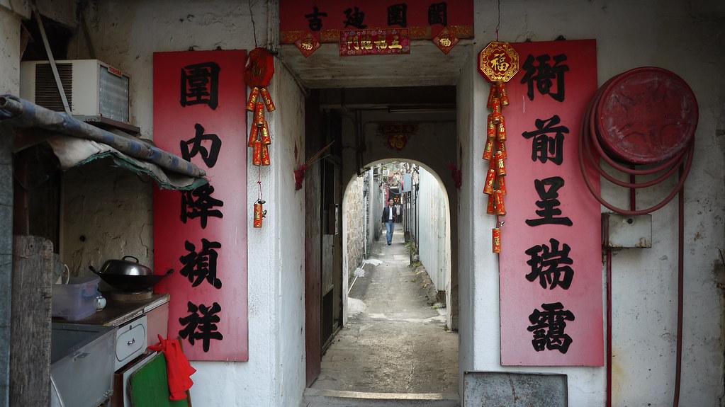 Nga Chin Wai Walled Village (衙前圍村)