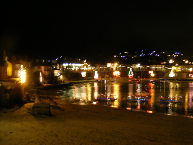 The Mousehole Lights, December 2011