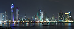 Night Skyline Panama