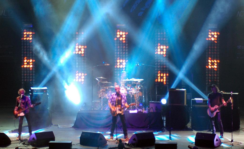 Los Enemigos, 7 de Enero de 2012 en el Festival Actual 2012 (Logroño).