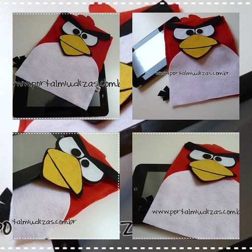 "Case Tablet & Ipad ""Angry Birds"" by miudezas_miudezas"