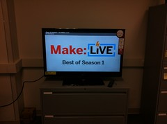 <p>New tv in the launch pad will be great for talks and watching tutorials and fun videos!</p>