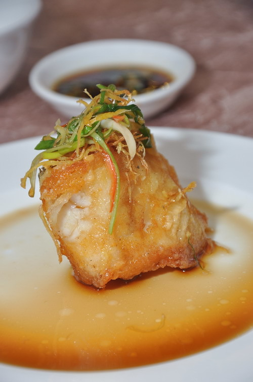 Deep Fried Cod Fish with Superior Soya Sauce1
