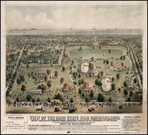 View of the Ohio State Fair Grounds, 1856