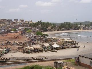 Elmina harbour (Ghana 2005)