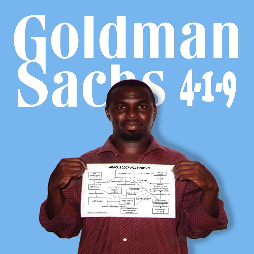 GOLDMAN SACHS 4-1-9
