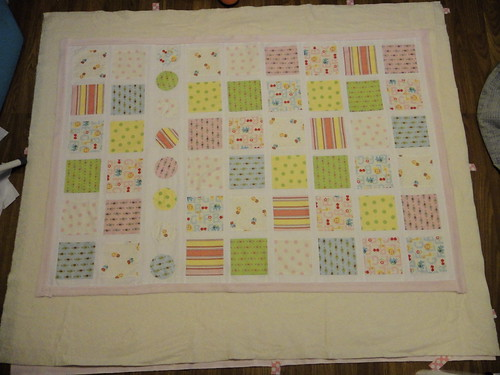 Baby quilt for SIL