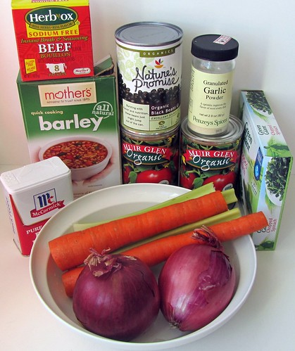Vegetable Bean Soup, Ingredients