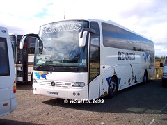 BX04 NCD Mercedes-Benz OC500 Touro.Falkirk Football Stadium FALKIRK 1
