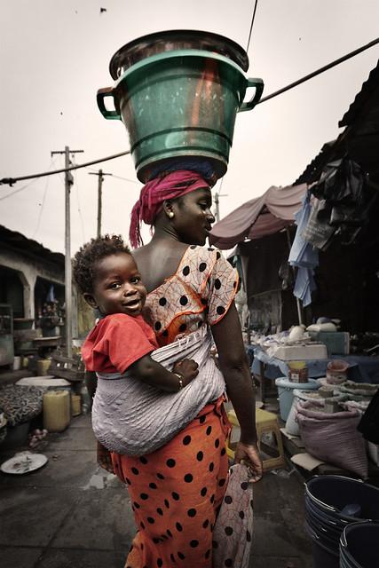 Untitled Mercado En Brikama Gambia View On Black