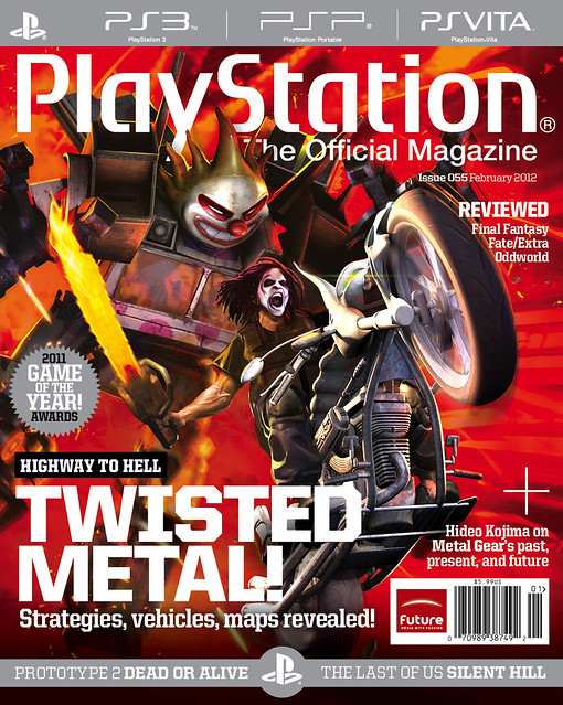 PlayStation The Official Magazine, February 2012
