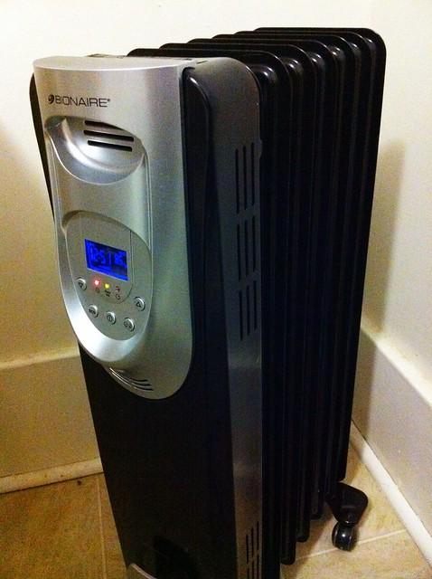 a heater!
