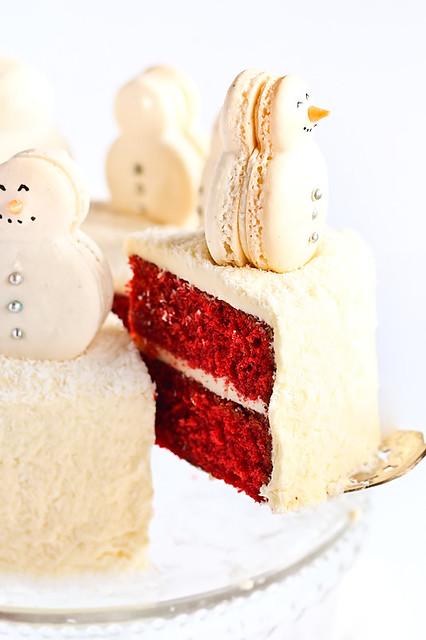 Snow Cake Food