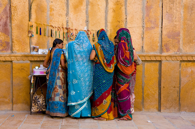 Jewelry shopping, Jaisalmer