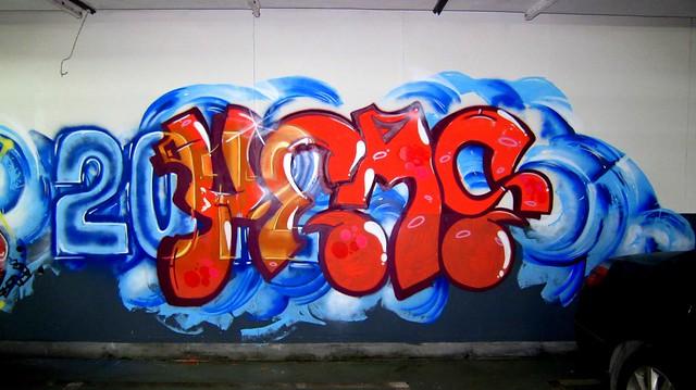 graffiti | yems | shanghai . radisson blu pudong