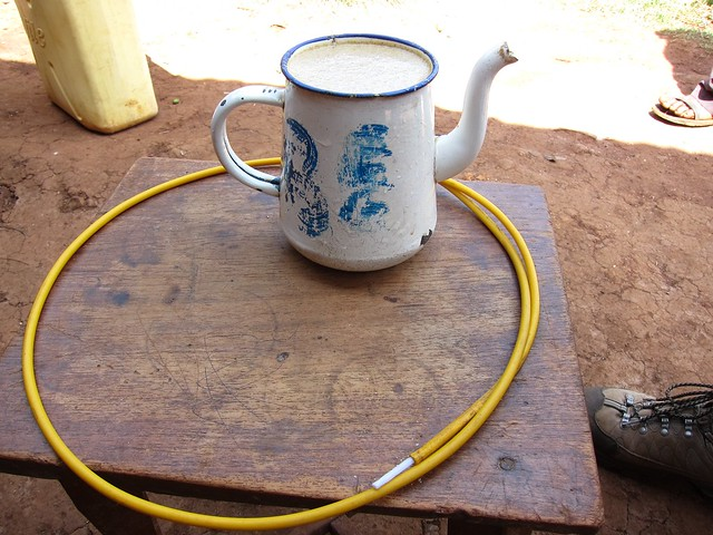 Local Ugandan Maize Beer