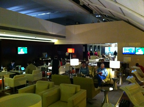 Chinese New Year's Eve in the Guangzhou lounge