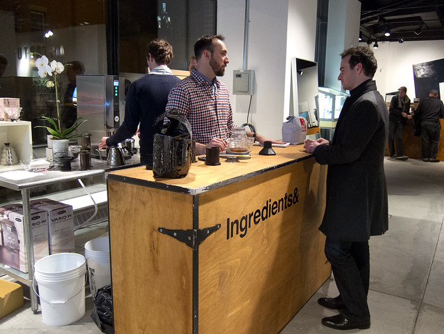 Coffee Common NYC at A Startup Store