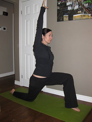 Hip Flexor Stretch Arm Up
