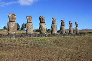 Easter Island, Ahu Akivi