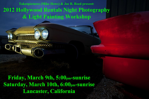 2012 Hollywood Rentals Night Photography & Light Painting Workshop