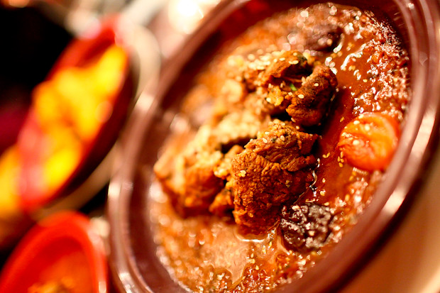 Lamb Tagine at Mamounia Lounge in Knightsbridge
