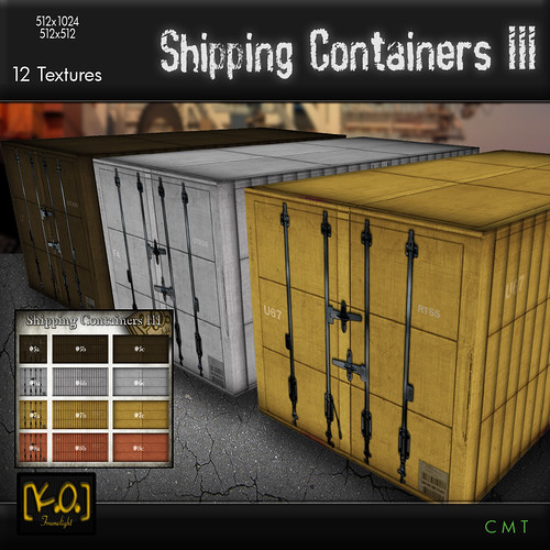 [K.O.] - Shipping Containers III - 12 Textures by Khan Omizu