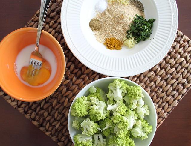 Crispy Curry Roasted Broccoflower