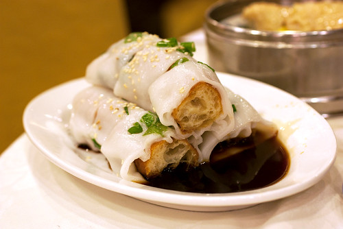 youtiao rice roll @ empress harbour seafood