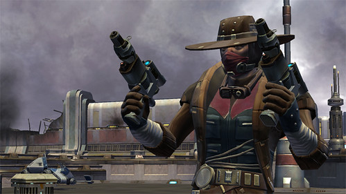 SWTOR Gunslinger Build and Spec Guide - PVP/PVE