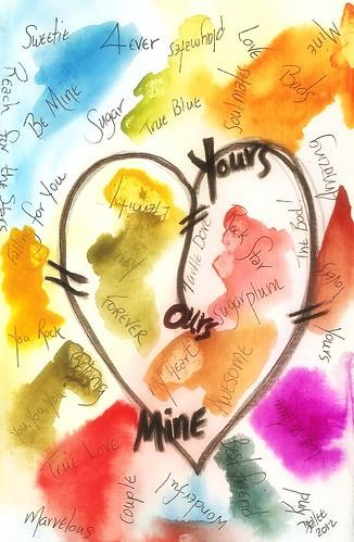 2012 - Valentine Graffiti by BeverlyDiane