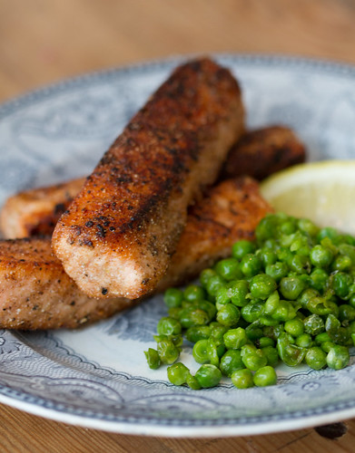 Fish and mushy peas (chips are optional) / Kalapulgad ja tambitud herned