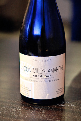 "Macon Milly-Lamartine ""Clos du Four"" Récolte 2006"