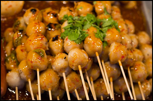 Spicy pork balls