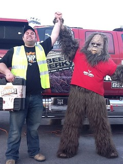 "January 25, 2012 - ""Sasquatch Challenge"" Winner Derek Smith, from Ohio"