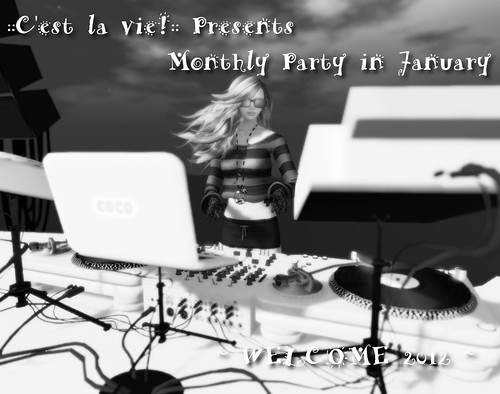 CLV Monthly Dance Party in Jan. by Kitt+