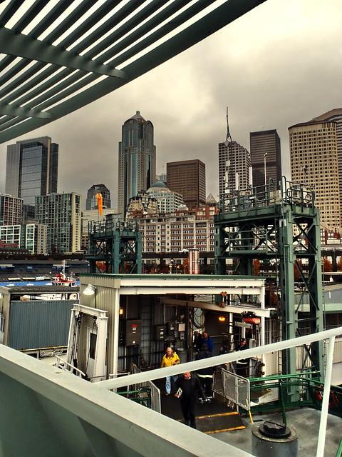 Boarding The Ferry @ Seattle