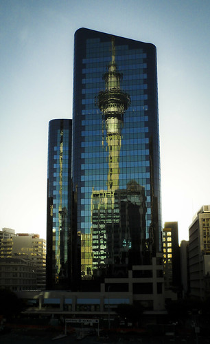 Sky Tower - Reflections (30/365)