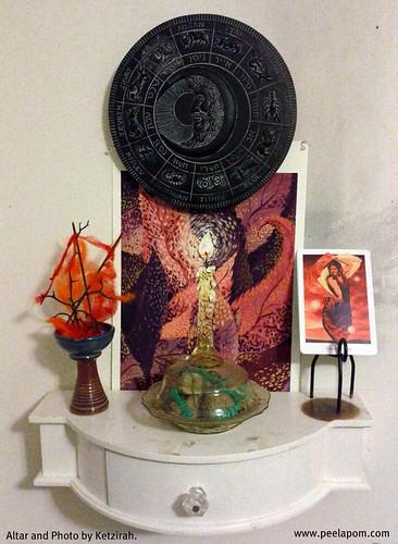 Shevat Altar