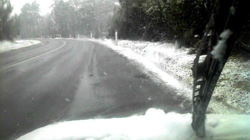 Conduire sous la neige