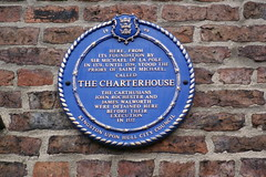 Photo of Michael de la Pole, John Rochester, James Walworth, and The Charterhouse, Hull blue plaque