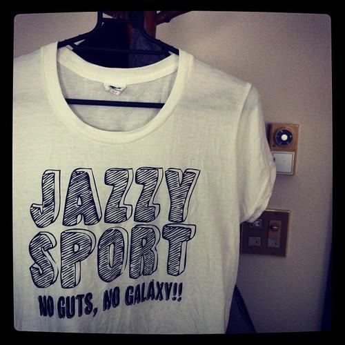 JAZZYSPORT POP LOGO TEE COMING ON MID FEB.
